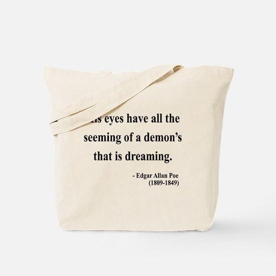 Edgar Allan Poe 24 Tote Bag