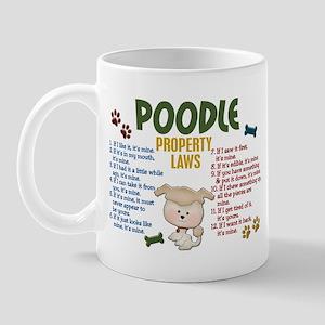 Poodle Property Laws 4 Mug