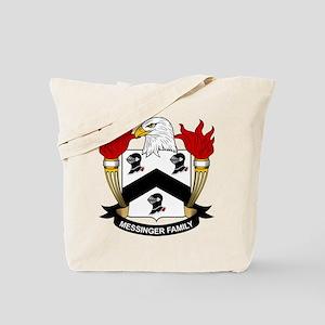 Messinger Family Crest Tote Bag