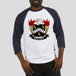 Mead Family Crest Baseball Jersey