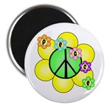 Peace Blossoms / Green Magnet