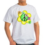 Peace Blossoms / Green Light T-Shirt