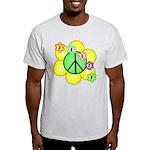Peace Blossoms / Green Light T-Shirt