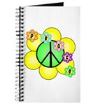 Peace Blossoms / Green Journal