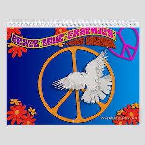 Peace Signs 2013 Wall Calendar
