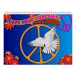 Peace Signs 2013 Wall Calendar