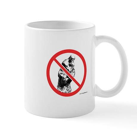 No Thinking Mug