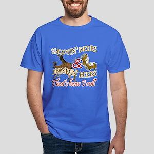 Drinkin' Beer & Shootin' Deer Dark T-Shirt