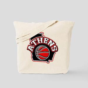 Athens Basketball Tote Bag