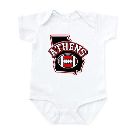 Athens Football Infant Bodysuit