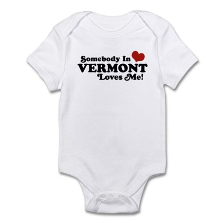Somebody in Vermont Loves me Infant Bodysuit