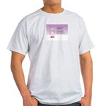 Mopizo Christmas Ash Grey T-Shirt