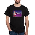 L.A. ninja Santa Christmas Dark T-Shirt