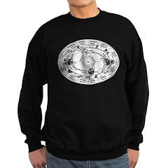 Vintage Astrology Map Sweatshirt (dark)