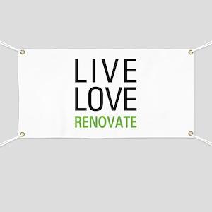 Live Love Renovate Banner