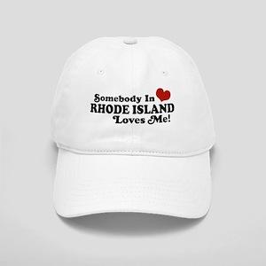 Somebody in Rhode Island Loves me Cap