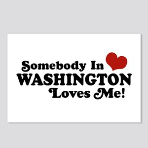 Somebody in Washington Loves me Postcards (Package