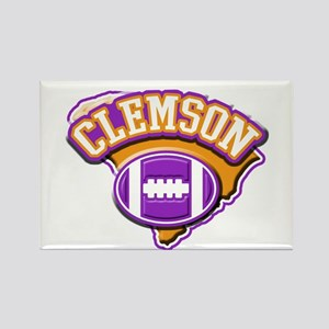 Clemson Football Rectangle Magnet