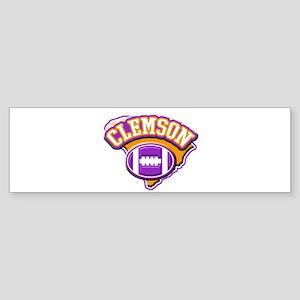 Clemson Football Bumper Sticker