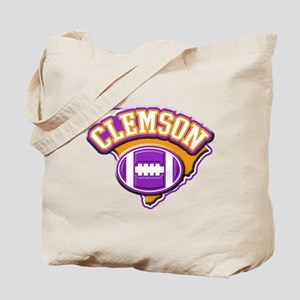 Clemson Football Tote Bag