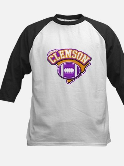 Clemson Football Kids Baseball Jersey