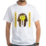 """Egyptian """"Have a Nice Day"""" White T-Shirt"""