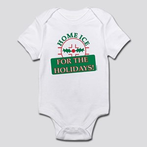 home ice holiday Infant Bodysuit