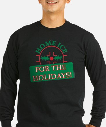 home ice holiday T