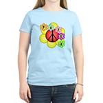 Super Peace Blossom Women's Light T-Shirt