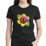 Super Peace Blossom Women's Dark T-Shirt