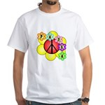 Super Peace Blossom White T-Shirt