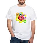 Super Peace Blossom White T-Shirt