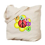 Super Peace Blossom Tote Bag
