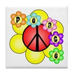 Super Peace Blossom Tile Coaster