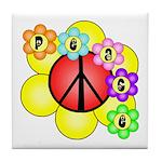 Super Peace Blossom Tile Coaster