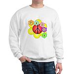 Super Peace Blossom Sweatshirt