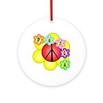 Super Peace Blossom Ornament (Round)