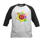 Super Peace Blossom Kids Baseball Jersey