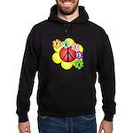 Super Peace Blossom Hoodie (dark)