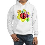 Super Peace Blossom Hooded Sweatshirt