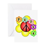Super Peace Blossom Greeting Card