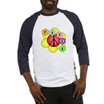 Super Peace Blossom Baseball Jersey