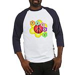 Super Peace Blossom Baseball Jersey