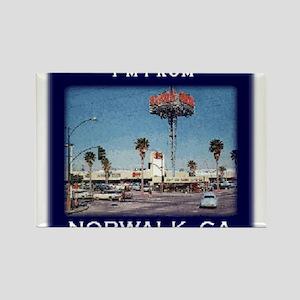 Norwalk CA Rectangle Magnet (100 pack)