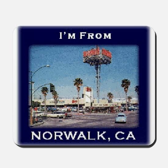 Norwalk CA Mousepad