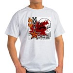 MMA teeshirt - blood in, blood out