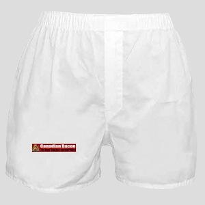 Canadian Bacon Boxer Shorts