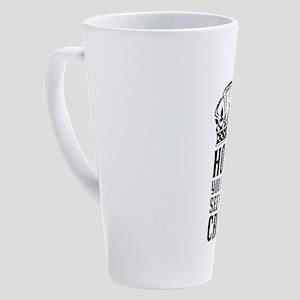 In A Crown 17 oz Latte Mug