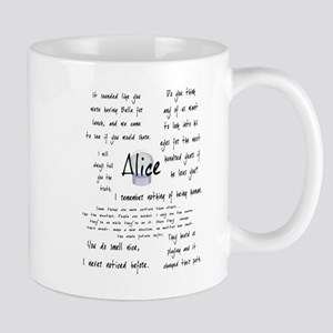Alice Quotes Mug