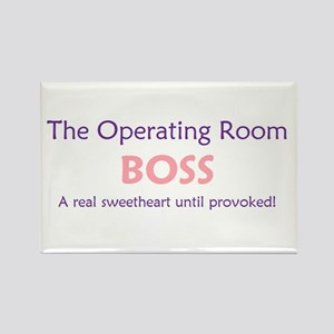 OR Boss Lady Rectangle Magnet